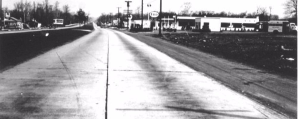 A Look at Route 17 in another time