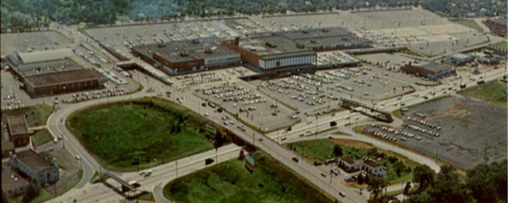 When Bergen Mall Was a Real Town Center