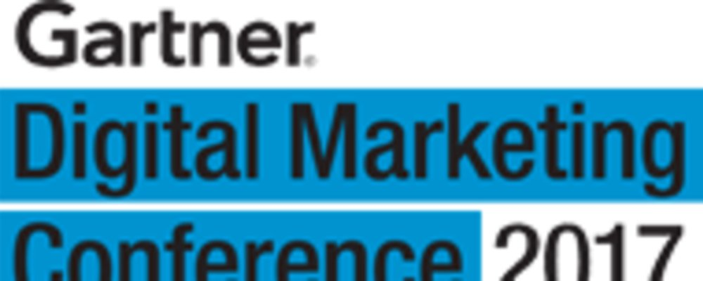 Gartner Digital Marketing Conference 2017 - San Diego, CA