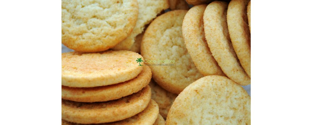 No-Roll Sugar Cookies with Coconut Oil