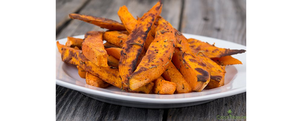 Loaded Sweet Potato Fries: Southwest Style!