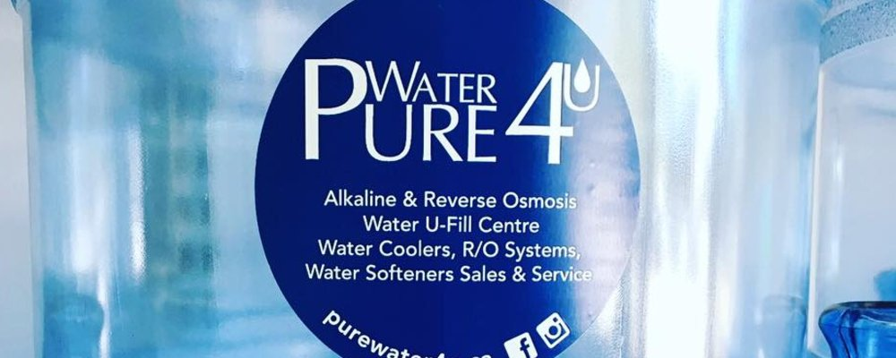 Welcome to Pure Water 4U in Burlington