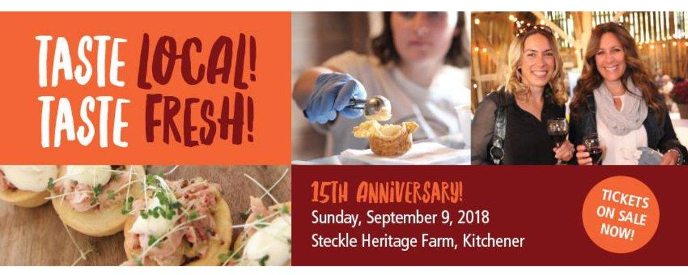 Taste Local! Taste Fresh! 15th Anniversary