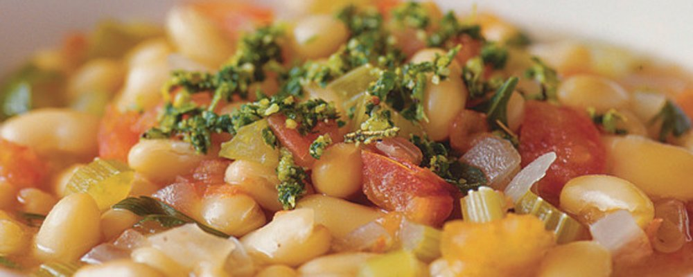 Hearty Healthy Fall Bean Soup