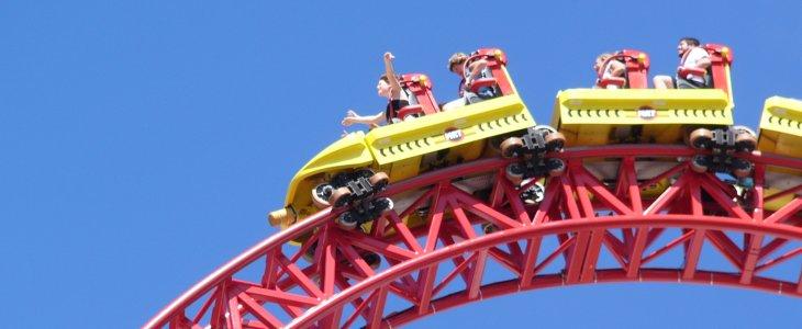 Ride At Least A Dozen Coasters