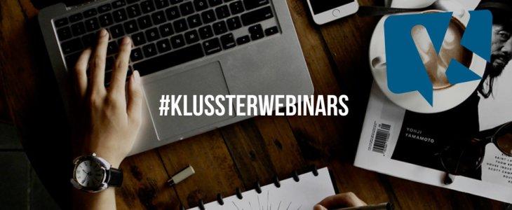 Klusster Webinar Wednesdays!