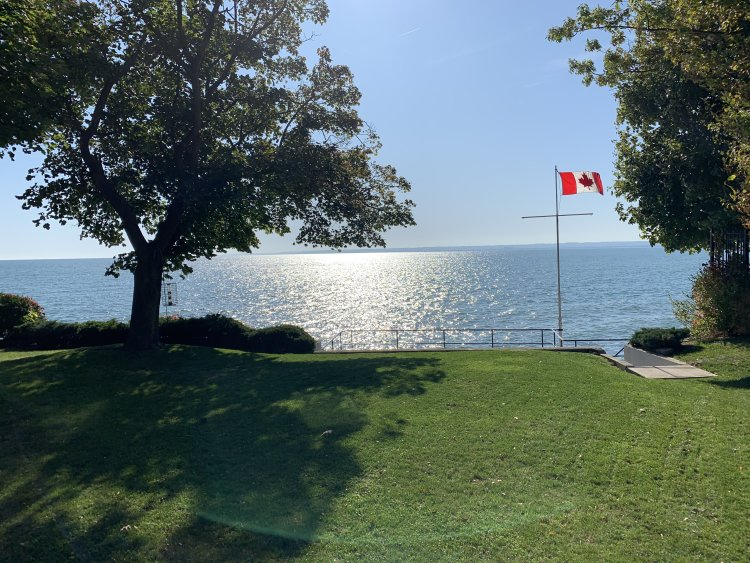 Views from our cosmetic dentist office in Burlington
