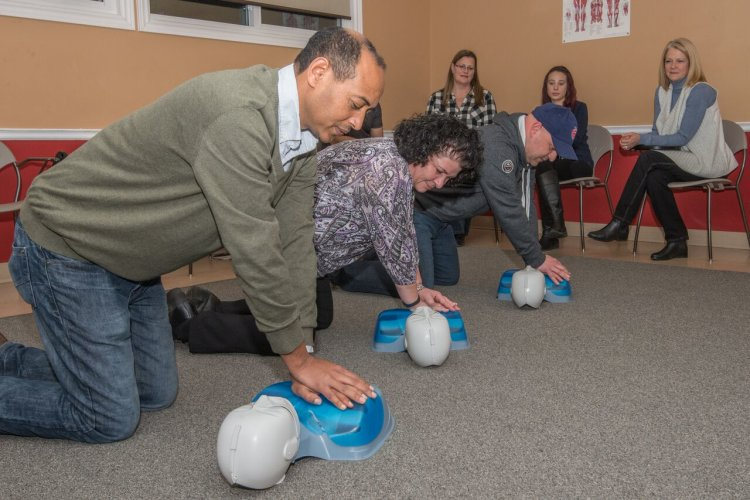 First Aid instructor training St John Ambulance Kitchener Waterloo CPR