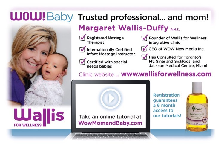 Wallis for Wellness, Wow Mom and Baby