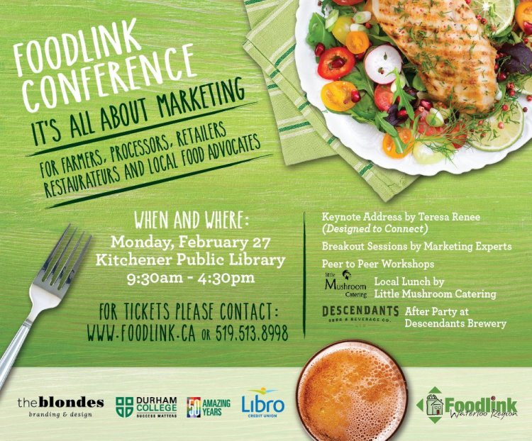 foodlink conference, marketing, local business, farmers
