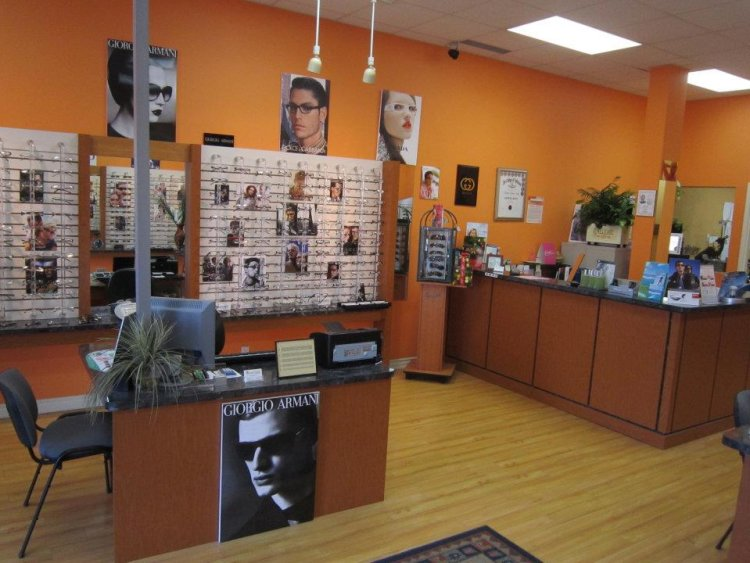 Vision Clinic Burlington optical sunglasses eyeglasses