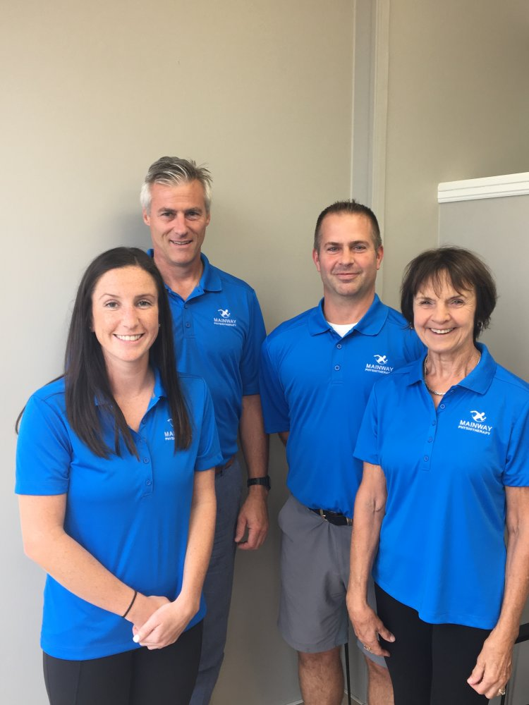 Mainway Physiotherapy Team, Burlington, Physiotherapy, Sports Injury therapy