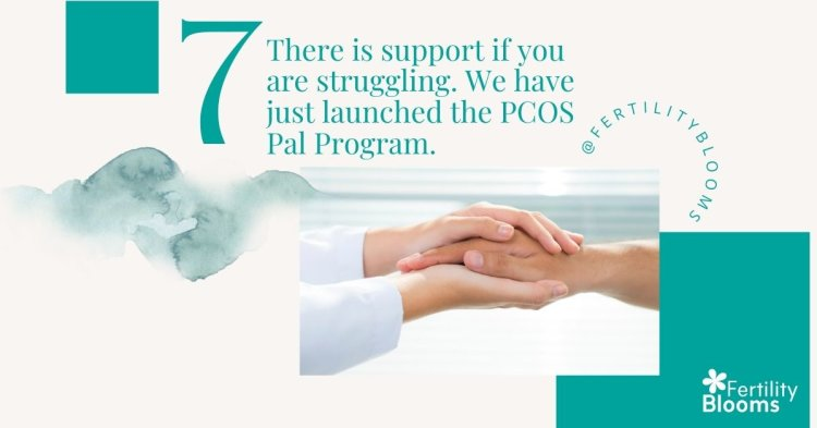 I know its scary and feels like there are no resources, but there are so many for PCOS warriors!