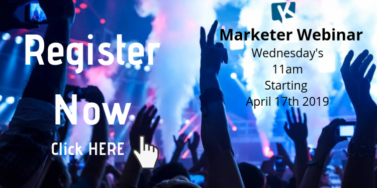#digitalmarketers Join Us - Marketer Webinar Wednesdays!