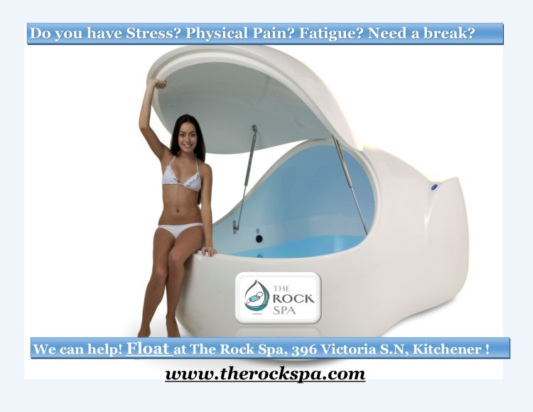 Float pod, the rock spa, therapy