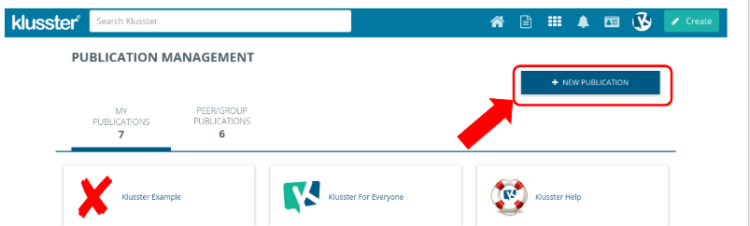 "What is a ""Klusster Publication""?"