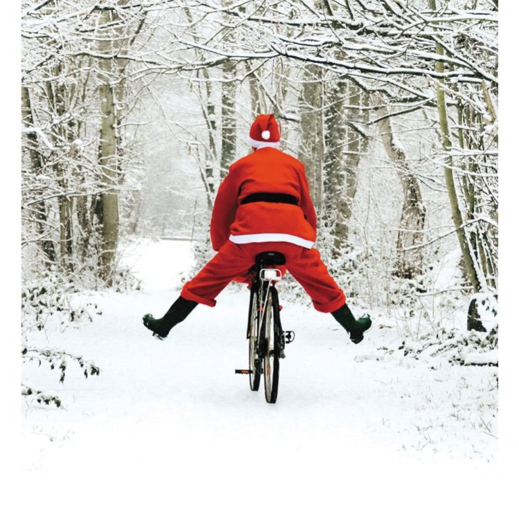 santa,waterloobikeshop,christmas,cycling