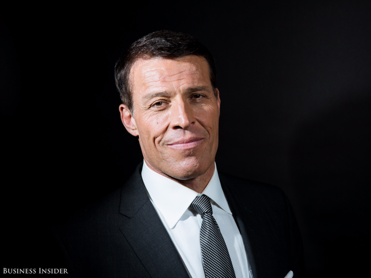 Tony Robbins, motivational speaker, coach