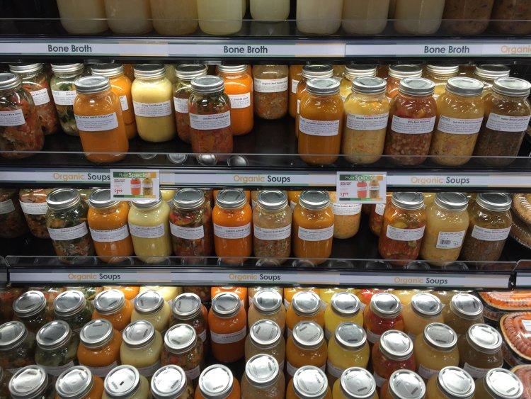soup, natures, emporium, burlington