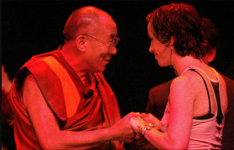 Alanis, Dalai Lama, world peace, self-acceptance