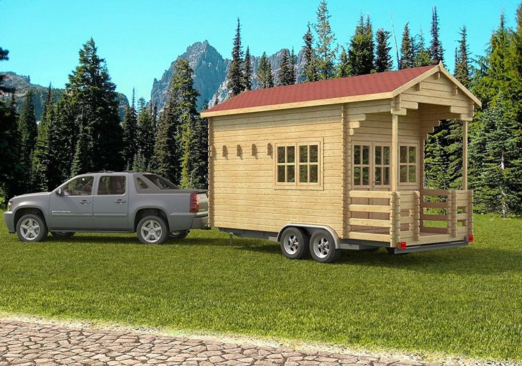 Allwood Pioneer Home kit, Amazon, Tiny home