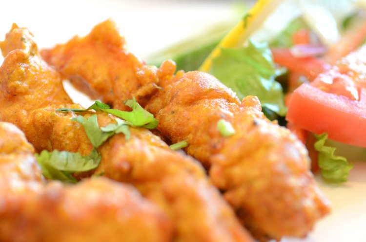 food dining indian pakora