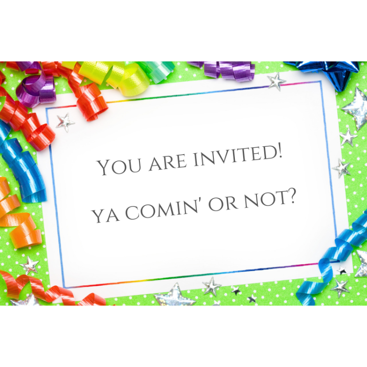 #invitation #RSVP #birthday #parties
