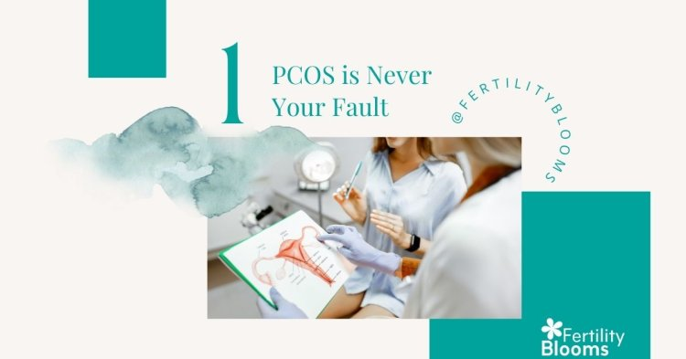 There is no cause for PCOS. It is not your fault.