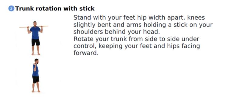 Throacic Spine Rotation Mainway Physiotherapy Burlington Golfing Golfers Elbow Golf Injury