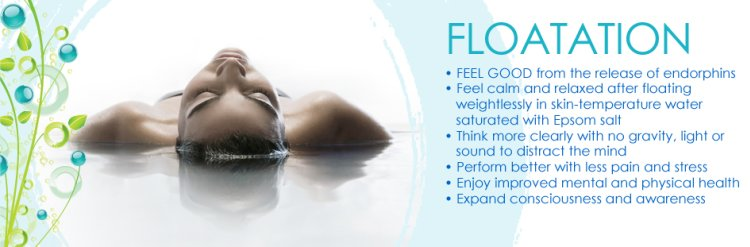 floatation, flotation, therapy, calm, athletes