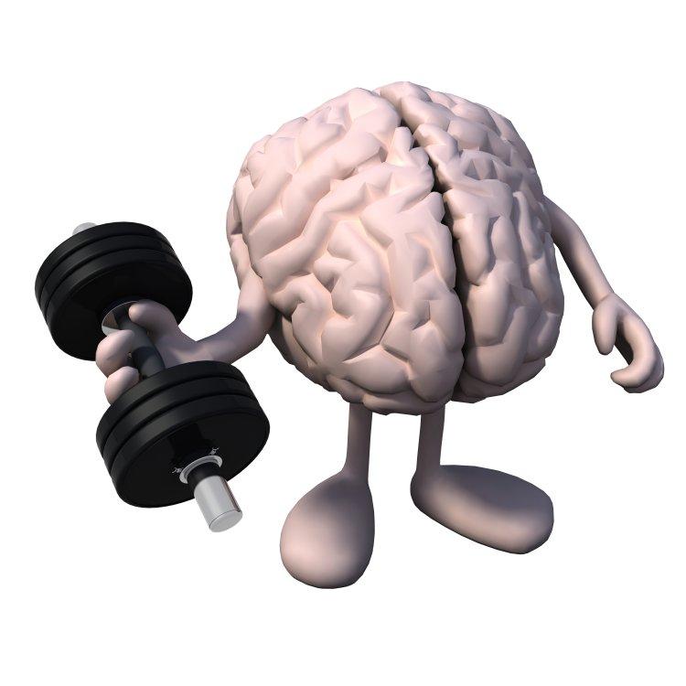 Flex, Biceps, Exercise, Brain, Brain activity, Mental muscle