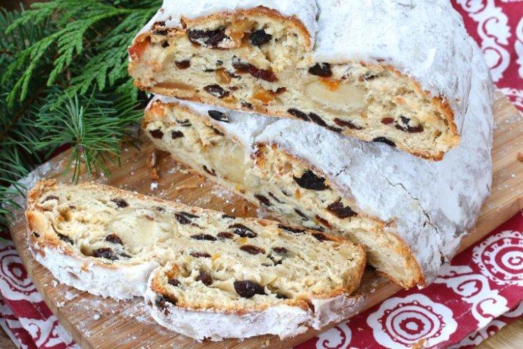 stollen,christmas,german,baking