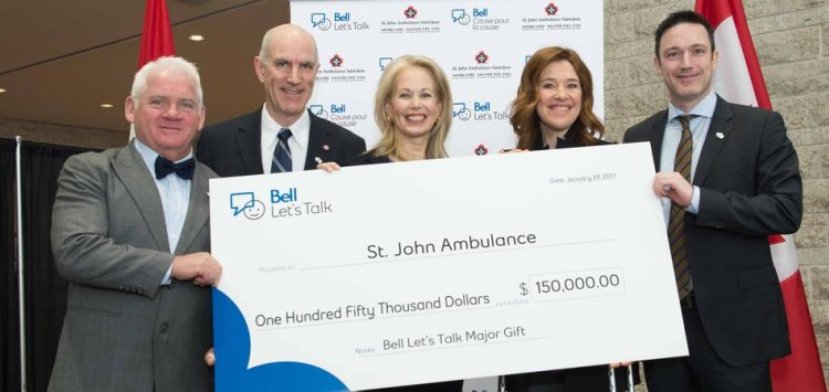 Bell Let's Talk St. John Ambulance Mental Health First Aid Commission