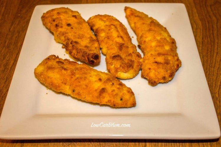 paleo recipes, coconut flour chicken tenders, coconut flour