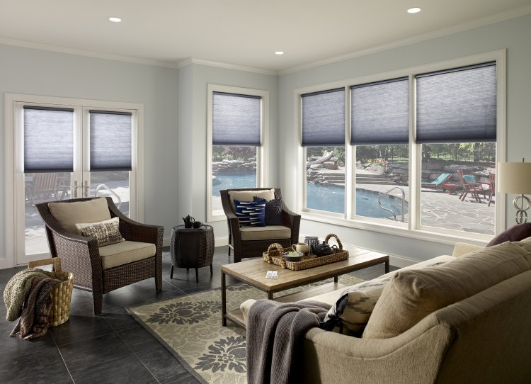 Lutron, Caseta, RadioRA 2, motorized shades, motorized blinds