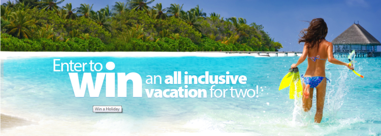 Win a Dream Vacation for Two with sunwing vacations WIN an All Inclusive Vacation to the Caribbean, Central America, or Mexico!