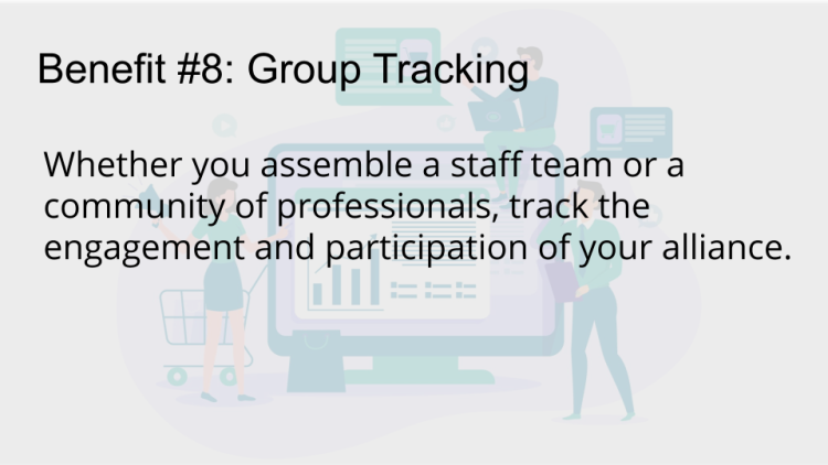 group, distribution, tracking