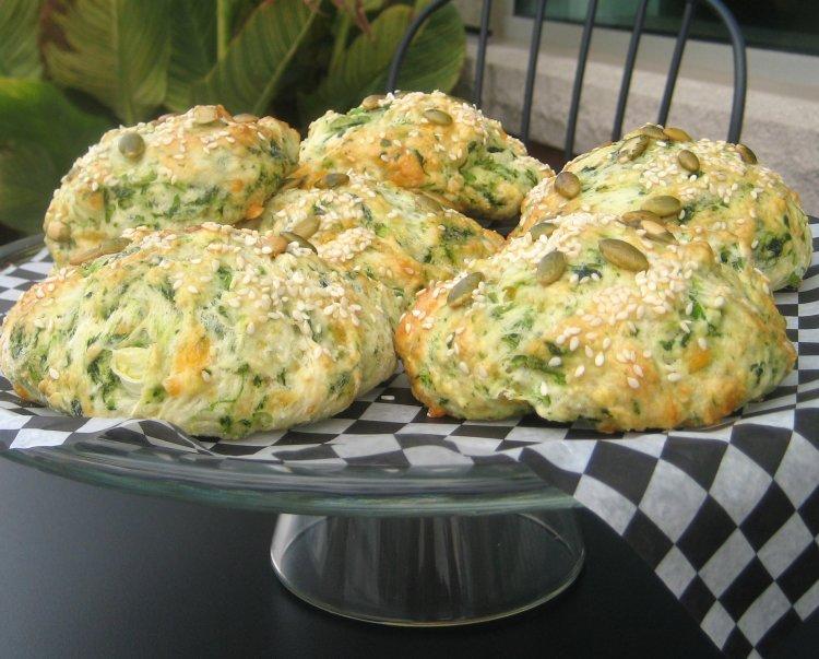 savoury breakfast scone