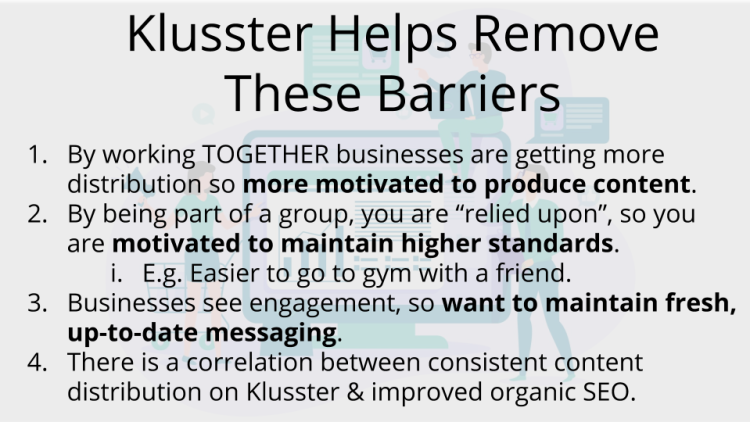 3 - Before You Start Your Klusster - There is something you should know.