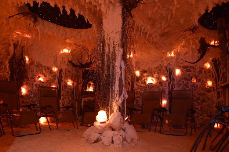Healing Salt caves, salt thearpy