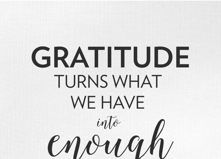Lee Pryke, I Am I Can, Gratitude