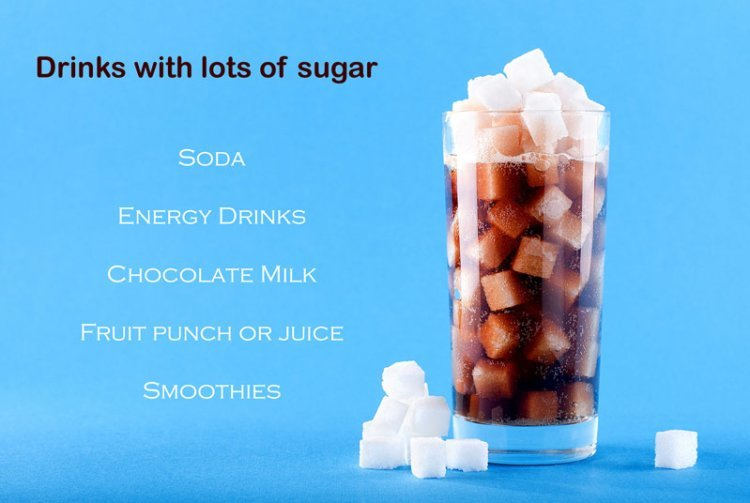soda, pop, chocolate milk, sugar, oral health, dentist, lakefront dental