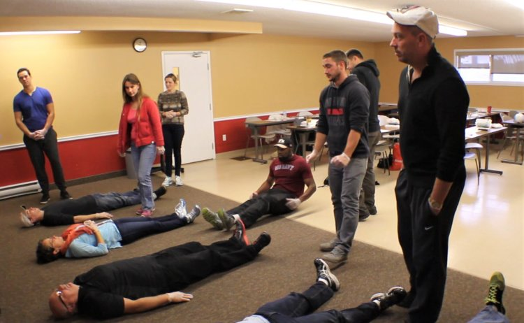 First Aid Course Instruction