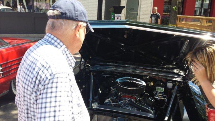 muscle, cars, burlington, car, show
