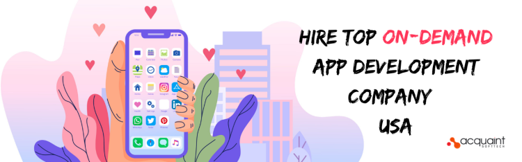 on demand app development company USA