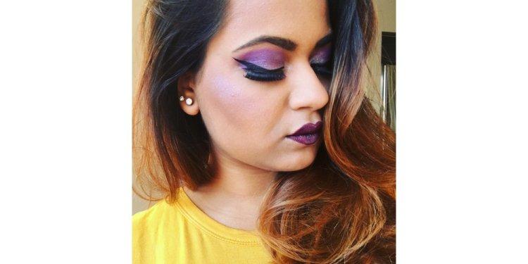 makeup, hair, henna