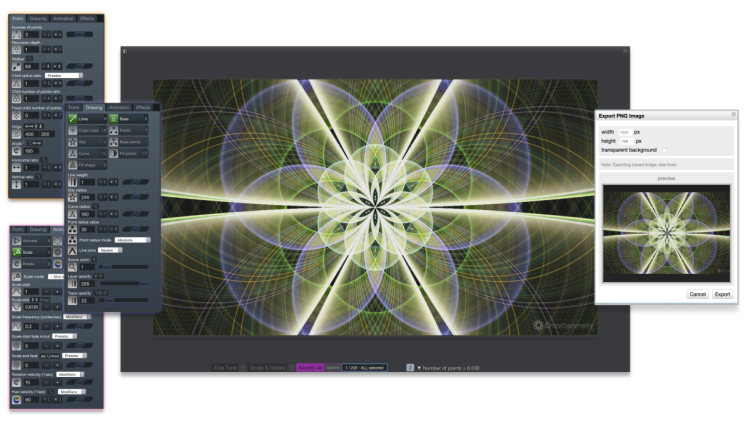 omnigeometry software clean interface