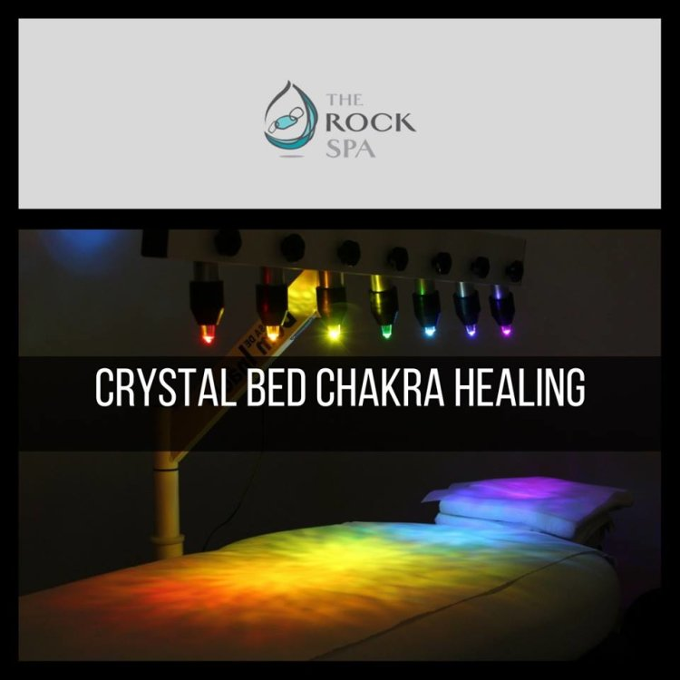 The Rock Spa Kitchener, Crystal Light Therapy,