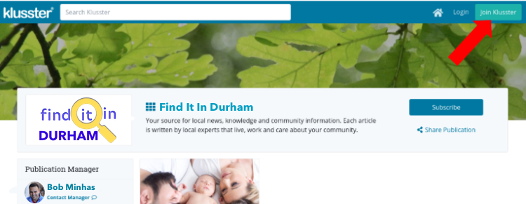 Getting Started With Klusster Content Club:  Find It In Durham