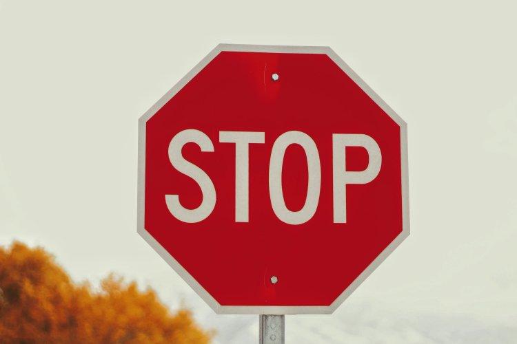 stop, calm